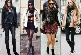 5. Padukan Atasan Lady Rocker Dengan Bawahan Jeans Pendek